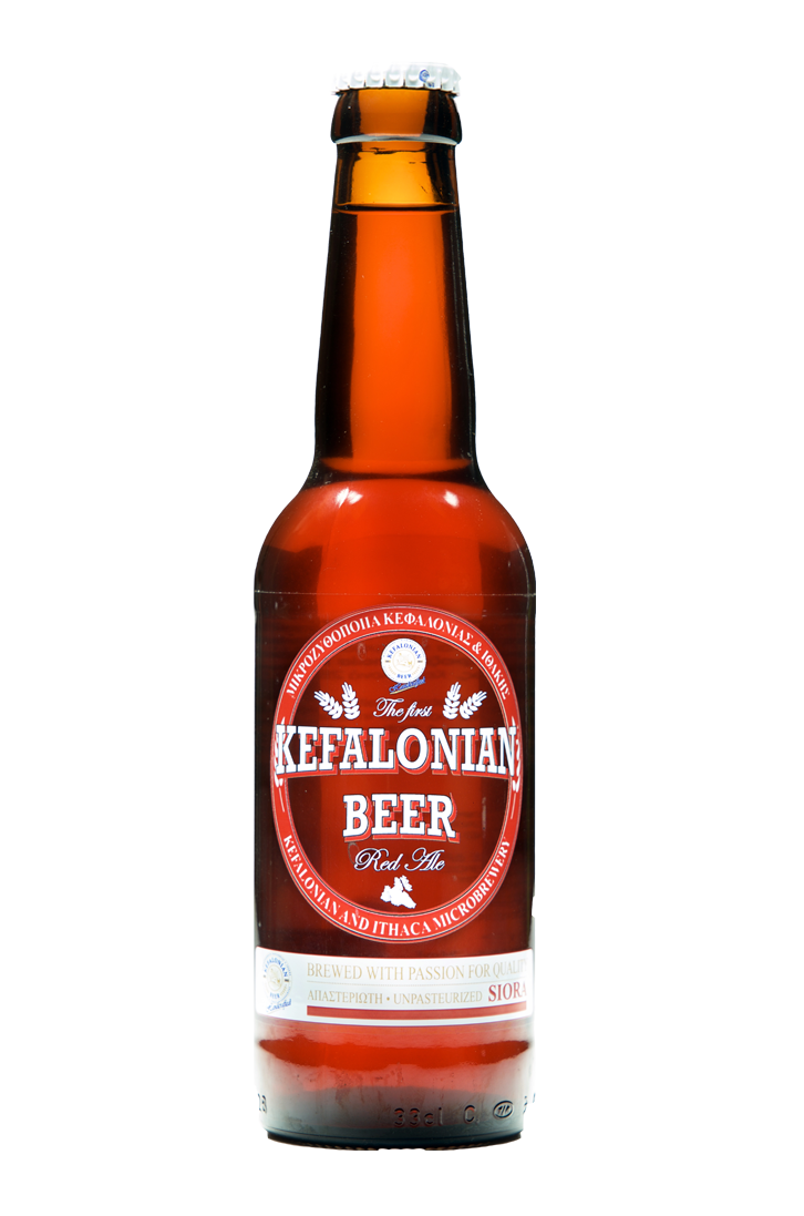 kefalonian beer red